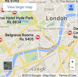 Victoria London Map.Treats Foods
